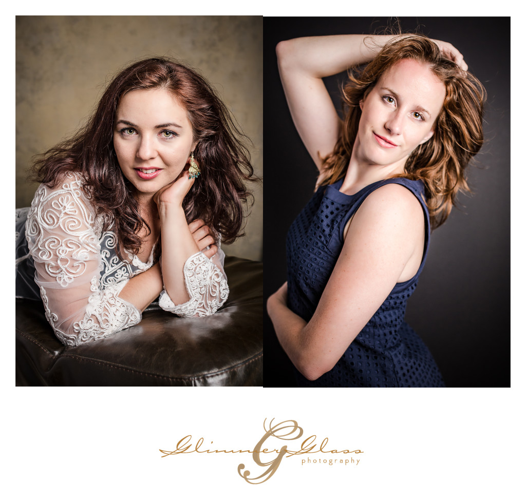 Glamour times two. A Glamour Girlfriends Session is twice the fun!